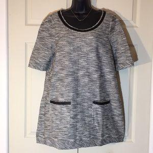 Anthropologie Shift Dress 9-H 15 S'CL Melange